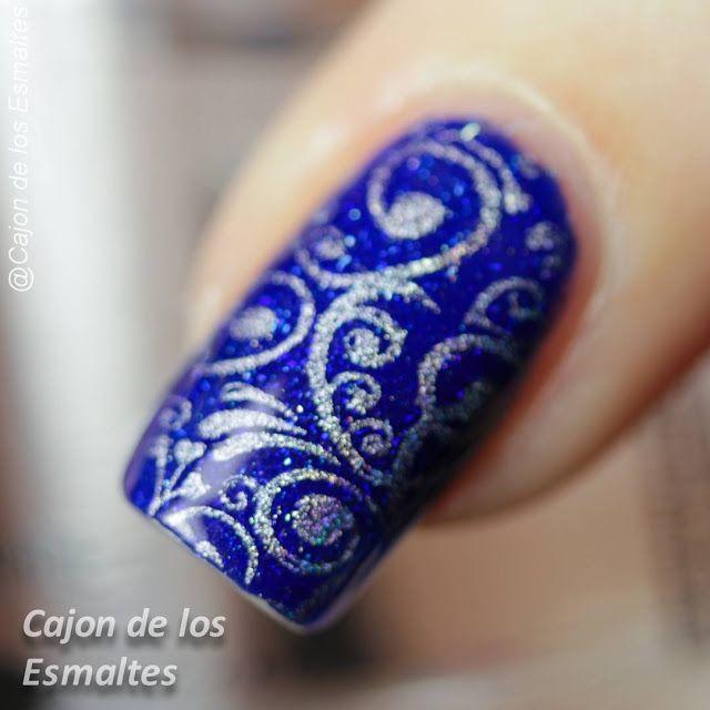 royal blue nails ideas