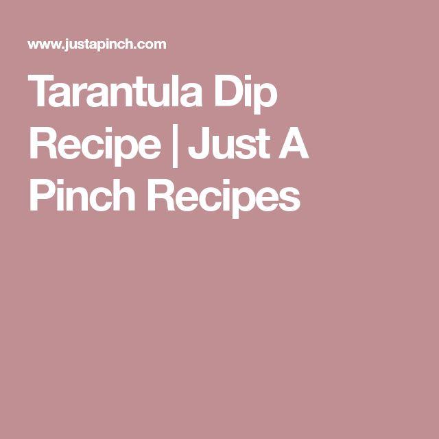 Tarantula Dip Recipe | Just A Pinch Recipes