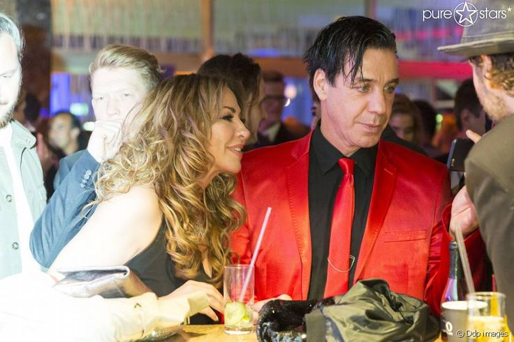 "Simone Thomalla und Till Lindemann am 7. April 2016 auf der ""Echo""-After-Show-Party."