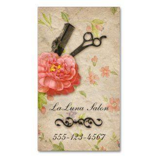 51 best business cards images on pinterest cartes de visita vintage floral hair stylist salon girly scissors business cards businesscards hairstylist hairsalon reheart Choice Image