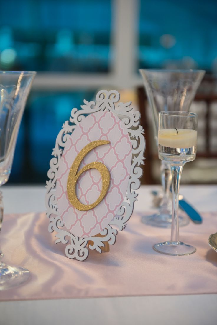 Table Numbers  www.aboccasiondesign.com
