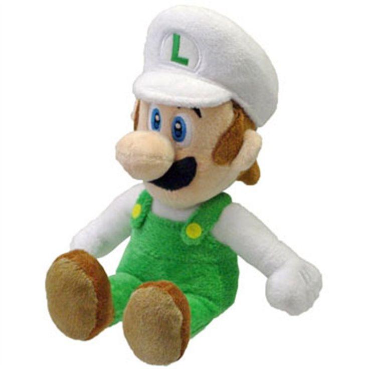 LUIGI FIRE PLUSH Il mitico Luigi con la Fire Suit vista a partire dall'indimenticabile Super Mario Bros, in un morbidissimo peluche da 20 cm. Licenza ufficiale Nintendo, materiali di qualità. - Maggiori dettagli: http://www.thegameshop.it/it/peluche/518-nintendo-luigi-fire-plush-20cm-3760116323956.html#sthash.llvRDSCP.dpuf