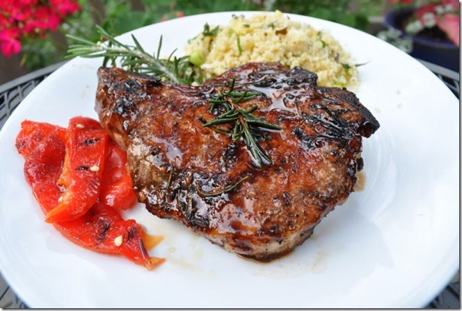 Pork Chops With Sweet-and-Sour Cider Glaze Recipe — Dishmaps