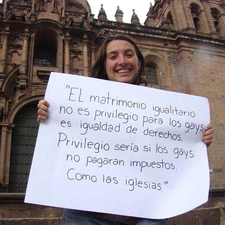 Marrige is not a privilege is a right. Privilege will be gay people don't pay taxs like church Feminism Quotes, Lgbt Rights, Web Magazine, Spanish Quotes, Girl Power, Letter Board, Real Life, Religion, Memes