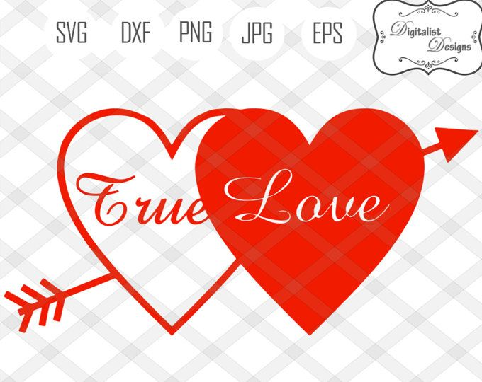 Download true love svg, love svg, arrow svg, valentines day svg ...