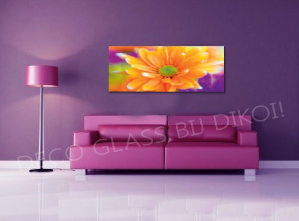 Deco glass 125x50cm 95 90 schilderijen pinterest glasses and deco - Muur deco lounge ...