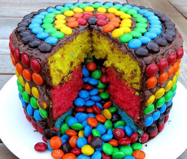 Лучшие Pinata торты | м и м пиньята торт