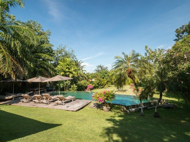Villa Galante | 6 bedrooms | Umalas, Bali #swimmingpool #garden #bali #villa #umalas
