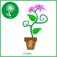 interaktívna hra kvet