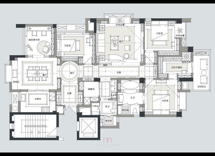 234 best Apartment Plans images on Pinterest | Apartment plans ...