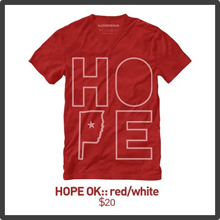 Hope OK :: Tornado Victims Benefit- 100% of proceeds go to helping the victims in Oklahoma!