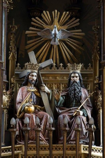 Jesus Cristo, Santissima Trindade