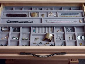jewelry drawers | California Closets