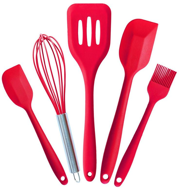 Premium Kitchen Utensils Set Silicone Cooking Tool Set Kitchen Cooking Utensils Set in Hygienic Solid Coating