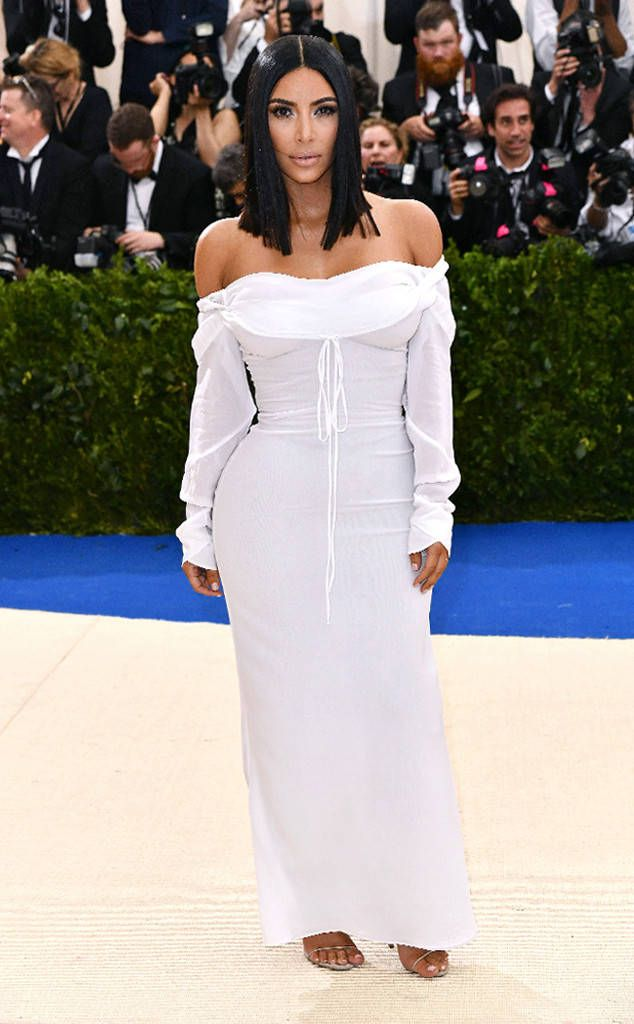 Kim Kardashian from 2017 Met Gala: Red Carpet Arrivals | E! Online
