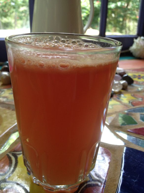 Fresh Watermelon Zinger Juice Recipe