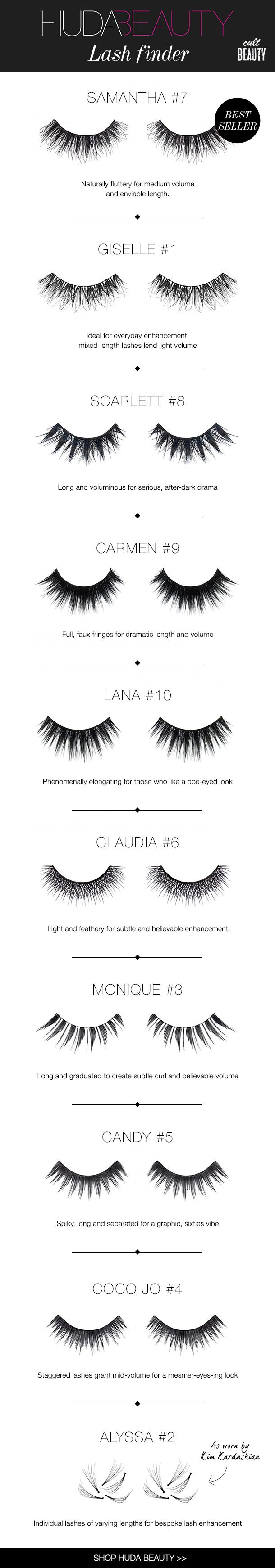 Huda beauty  Am obsessed with these eyelashes! They are so Stunning!! In the UK can be found on 'cultbeauty' !!!!!