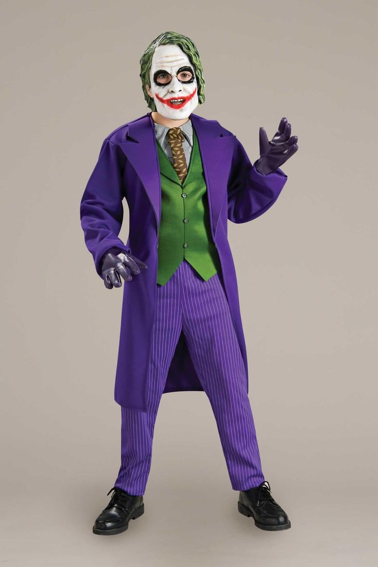 The 25+ best Kids joker costume ideas on Pinterest | Boys joker ...