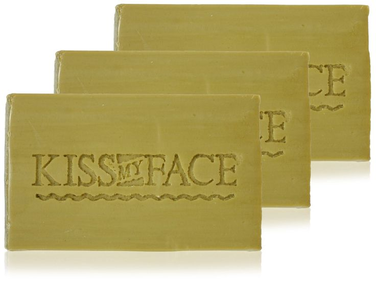 Kiss My Face Naked Pure Olive Oil Bar Soap, 4oz Bars, 3 Count : $4.03