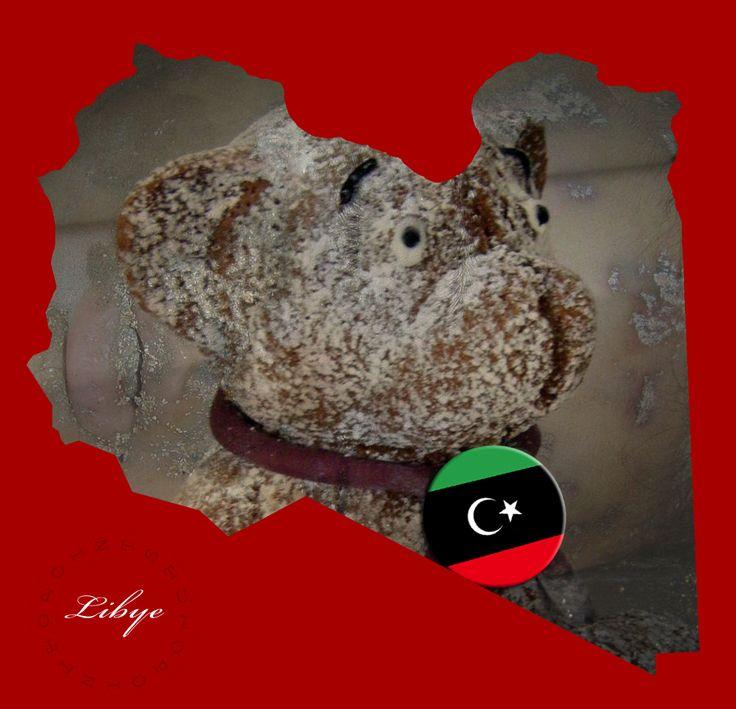 Map /Carte Libya Libye