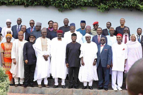 BREAKING: Acting president Osinbajo swears in two new ministers (Photos) - Nigerian: Breaking News In Nigeria | Laila's Blog
