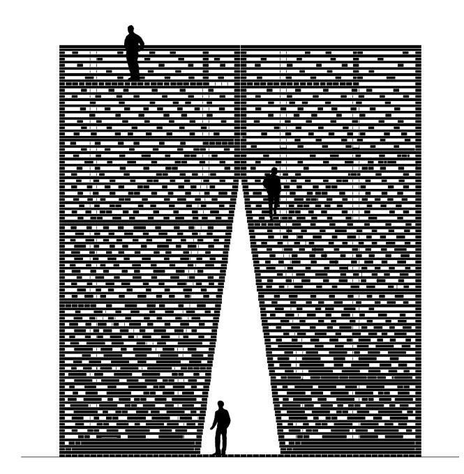 Elevation of the ARC. (Image: Boris Bernaskoni)