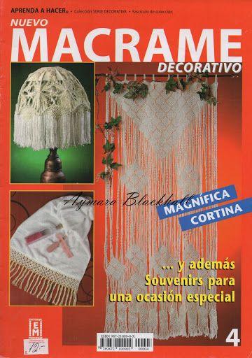 Macramé decorativo – Aymara Lorena Blackhall – Picasa tīmekļa albumi