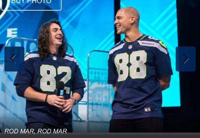 NFL Jersey's Men's Seattle Seahawks Doug Baldwin Nike White Game Jersey