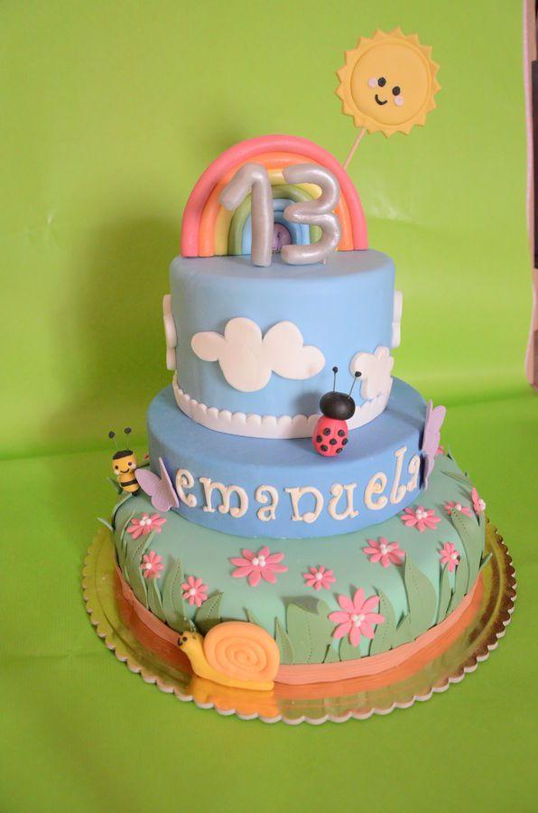 happy cake!!!! francesca gaudioso — Children's Birthday Cakes