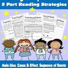 This product will help you introduce and teach your students in 5 parts how to use strategies to strengthen their reading comprehension. How to U...