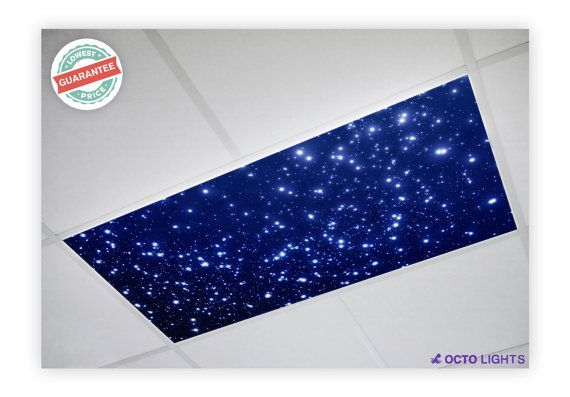 Fluorescent Light Covers  Astronomy 001 by DecorativeLightCover