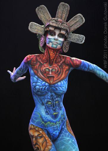 Art Color Ballet Kraków - bodypainting, balet, taniec, makijaż ciała, sztuka - Agnieszka Glińska – World Bodypainting Festival