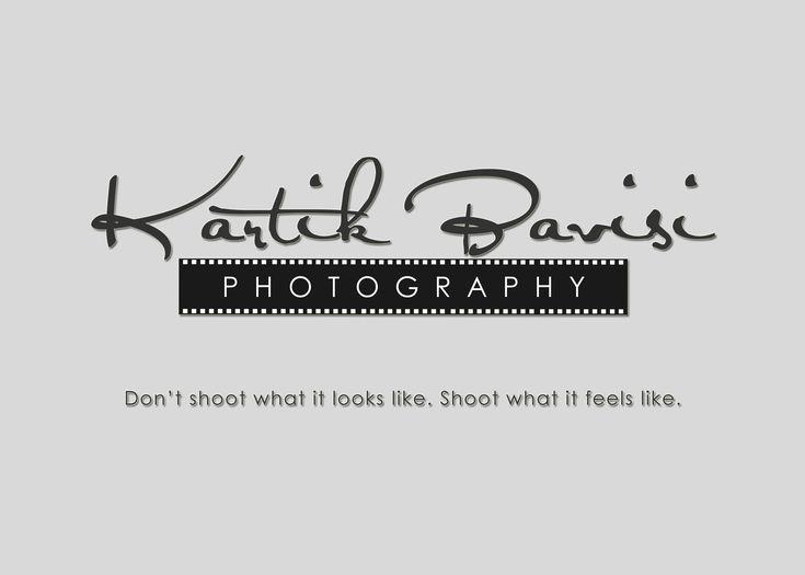 Kartik Bavisi Photography LOGO by kbkb143.deviantart.com on @DeviantArt