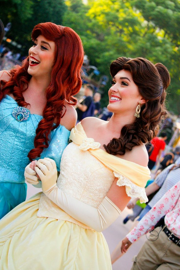 Ariel and Belle, HKDL