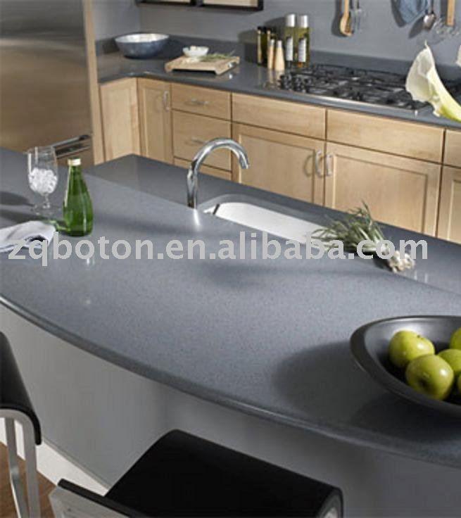 Elegante gris stella chispa encimera de cuarzo/mesa de cuarzo-Sistema de Escape-Identificación del producto:386243629-spanish.alibaba.com