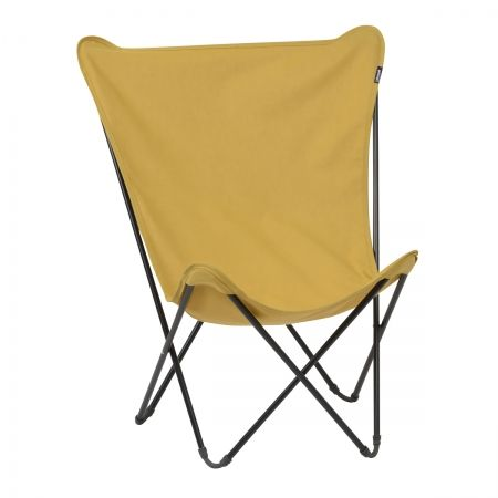 Lafuma Maxi Pop Up Chair In Curry, Fold Away Lafuma Chair.