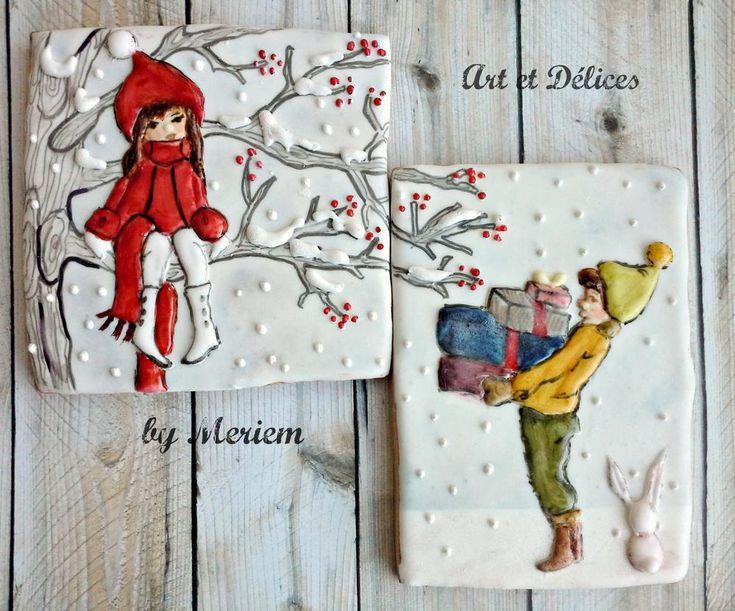Happy Christmas!     By Art Et Délices    http://www.facebook.com/artetdelicesbymeriem