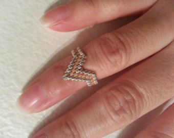 Tutorial vintage style lace ring instant by LeRayonDeSoleil