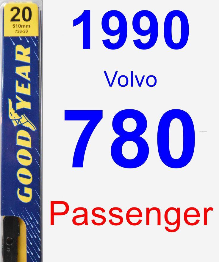 Passenger Wiper Blade For 1990 Volvo 780 - Premium