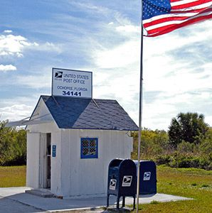 Ochopee Post Office In Floridas Paradise Coast