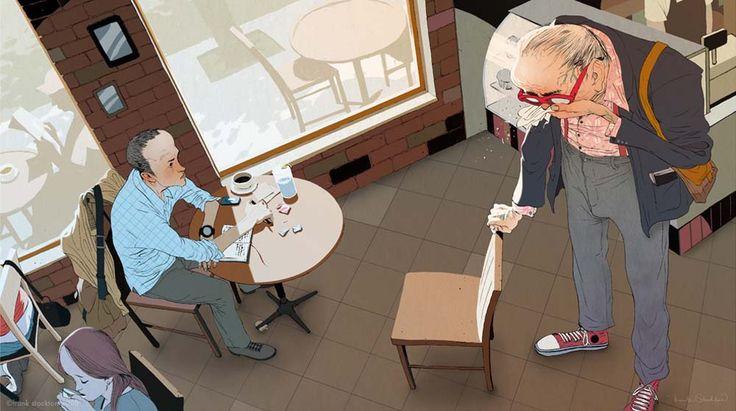 Frank Stockton Illustration Art | -::[robot:mafia]::- .ılılı. die kunst ist tot ★ es leben die maschinen .ılılı.