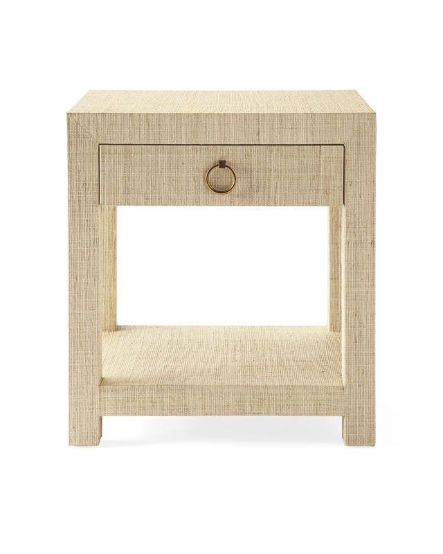 Blake Raffia 1-Drawer NightstandBlake Raffia 1-Drawer Nightstand