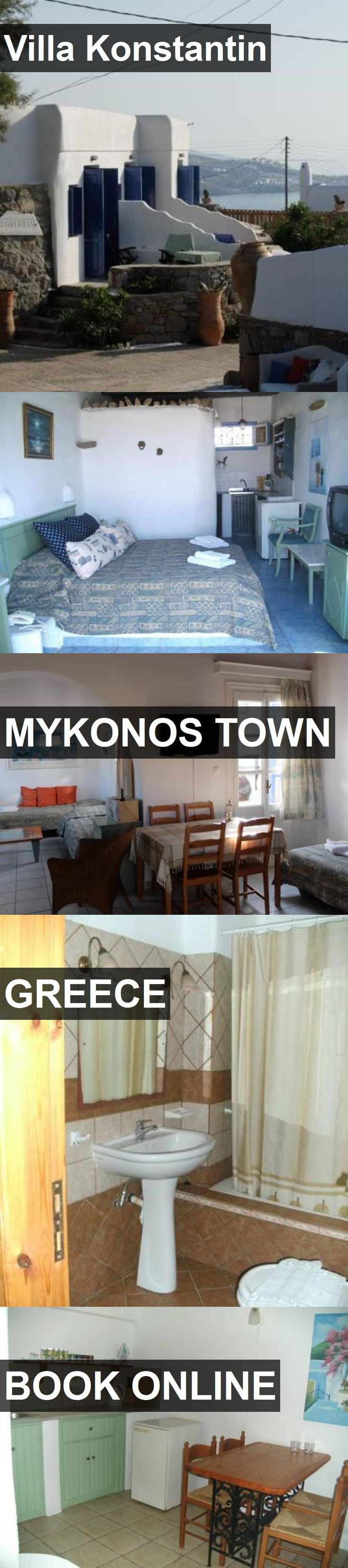 Hotel Villa Konstantin in Mykonos Town, Greece. For more information, photos, reviews and best prices please follow the link. #Greece #MykonosTown #travel #vacation #hotel