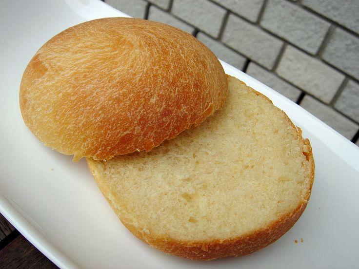 Szendvics zsemle – hamburgerhez, szendvicshez, kalács helyett, reggelire