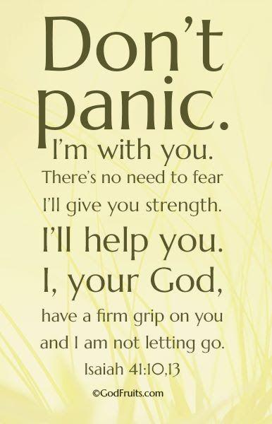 Isaiah 41: 10, 13