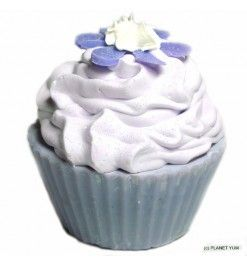 Our Sirena Cupcake soap made exclusively at Planet Yum