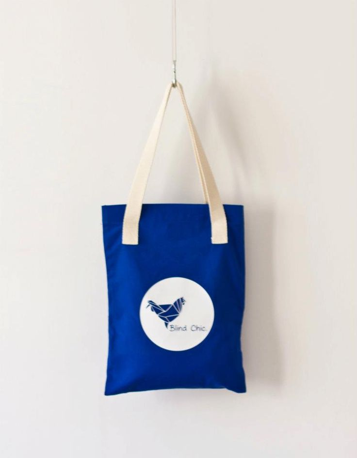 Summer 2012 - Blue Tote bag, Blind Chic.