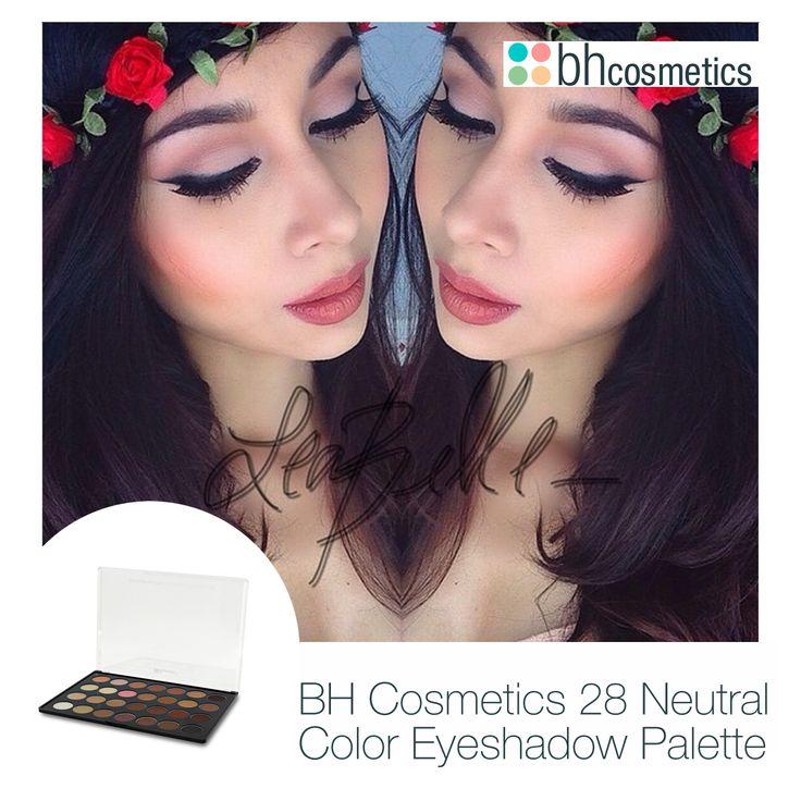 Göz kamaştıran @leabelle_ always  ❤️ , BH Cosmetics 28 Neutral Color Eyeshadow Palette ile yaptığı doğal güzelliğini yansıtan makyajıyla çok güzel görünmüyor mu? #Bhcosmetics #Makyaj #Güzellik #Kozmetik #Bakım #Gözmakyajı #eotd #ootd #bblogger #blogger #gününmakyajı #welovebhc #bhc #Gözfarı #farpaleti #ilovemakeup #Makyajdunyam #instabeauty