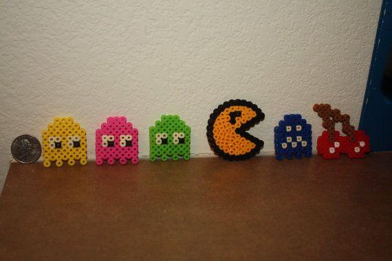 Pac-man Magnet Set. $6.50, via Etsy.