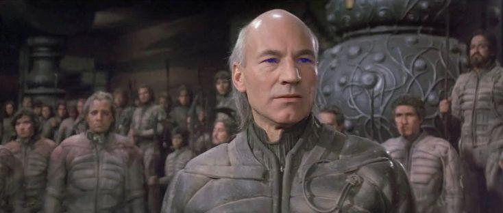 Sir Patrick Stewart (but then ONLY Patrick Stewart), as Gurney Halleck, in David Lynch's 1984 film adaptation of Frank Herbert's Dune